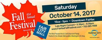 The City of Fairfax's 41st Annual Fall Festival