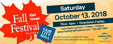 The City of Fairfax's 42nd Annual Fall Festival